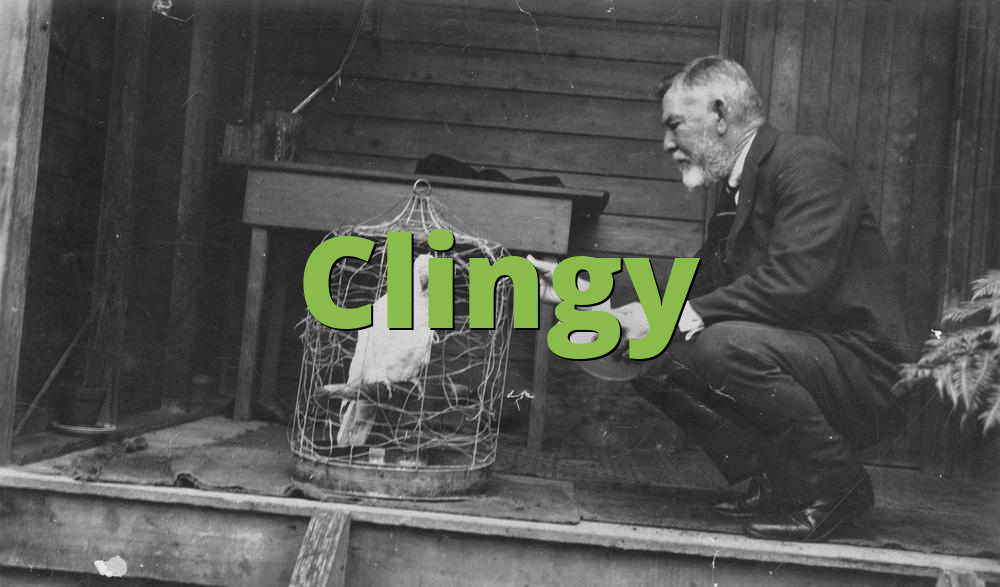 Clingy