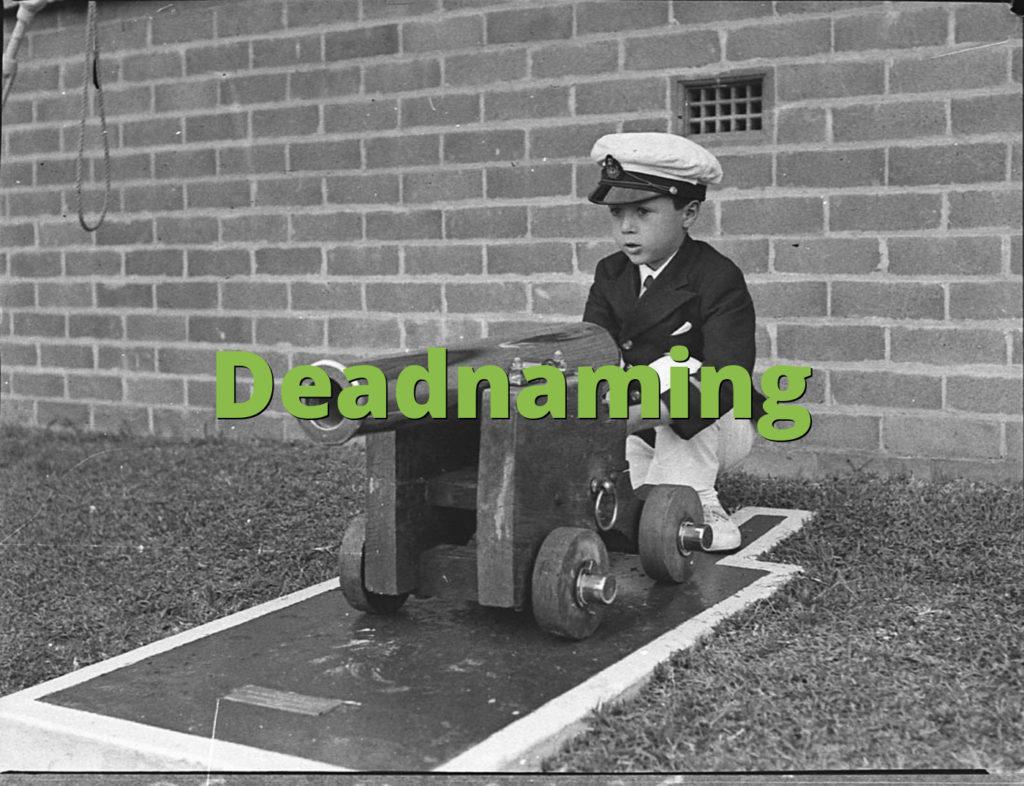 Deadnaming