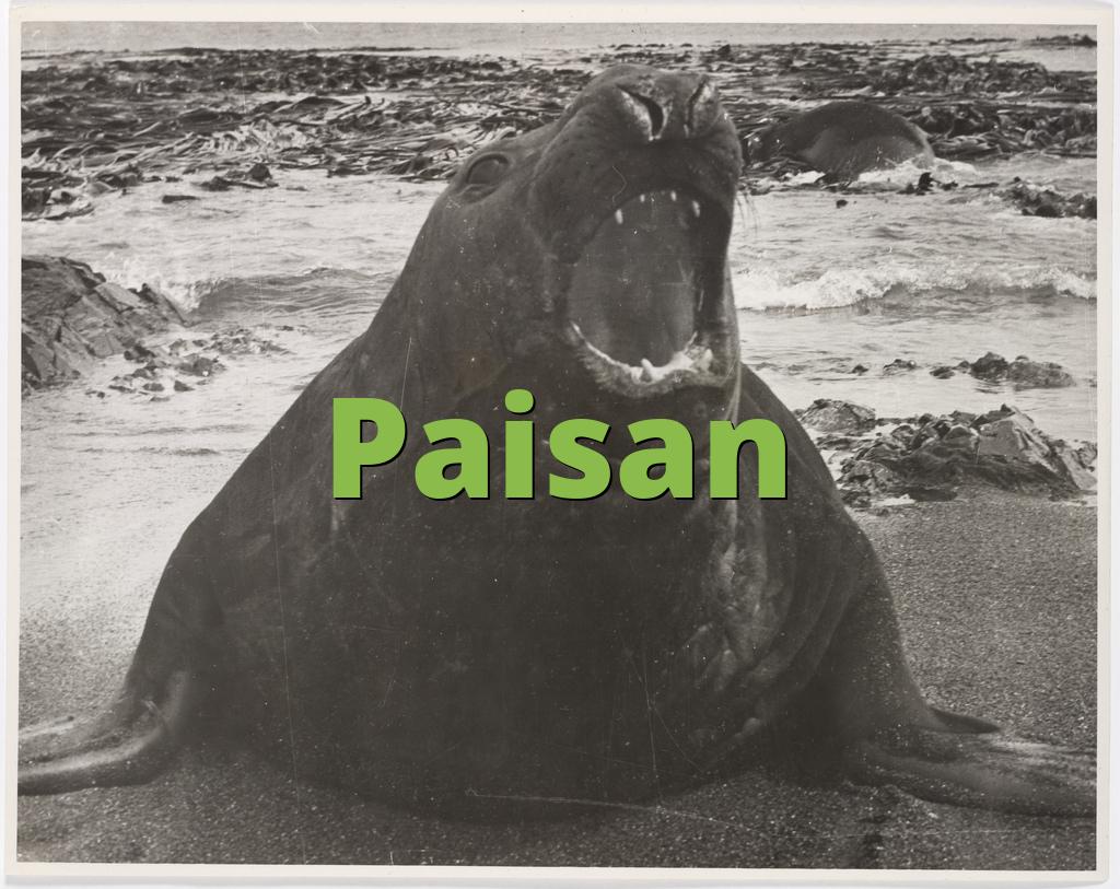 Paisan