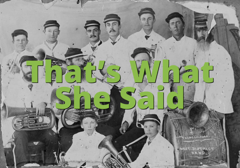 Thats What She Said » What does Thats What She Said mean